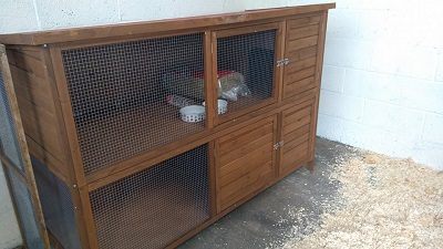 Double Hutch